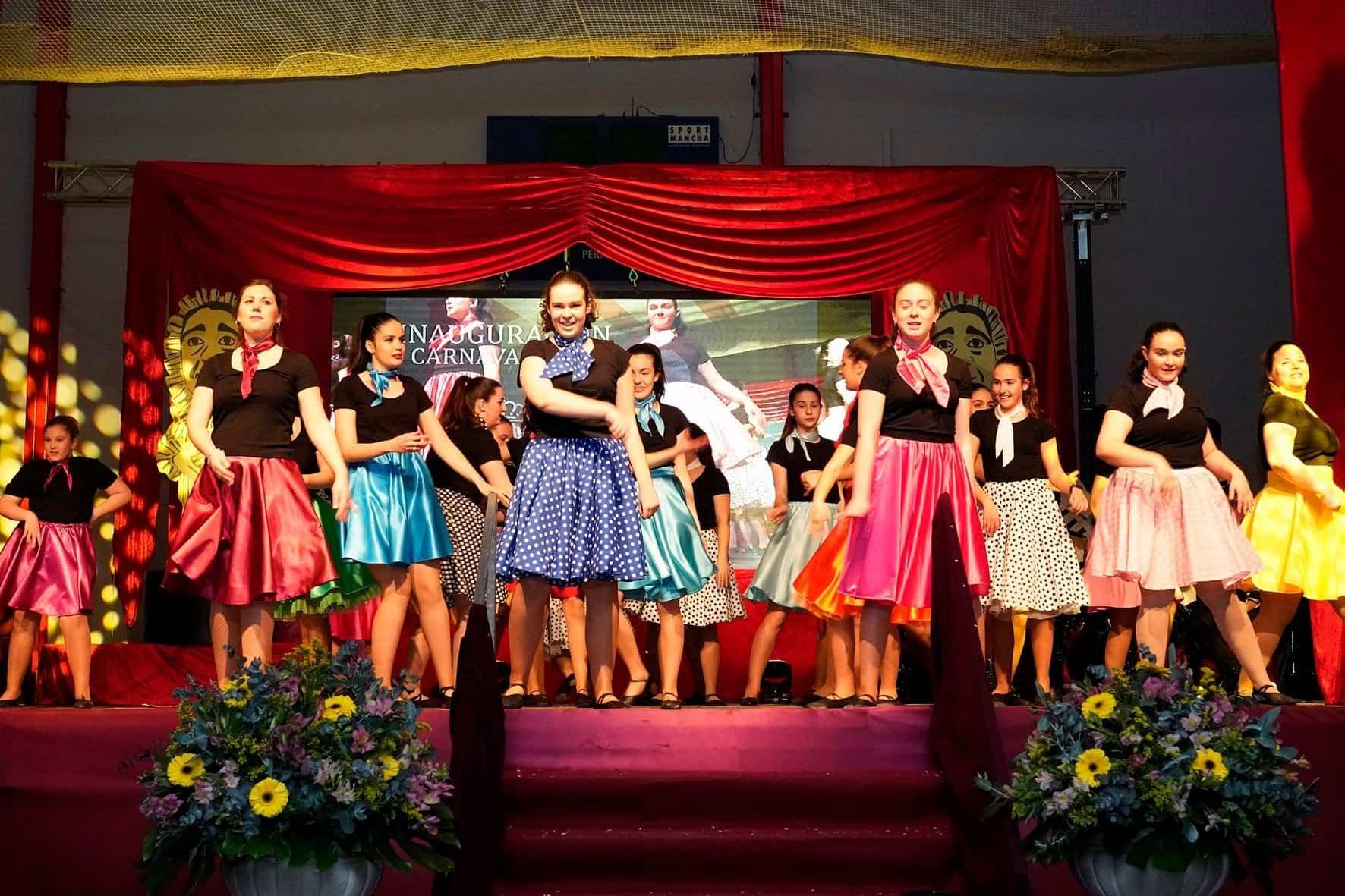 inauguracion carnaval 2020 herencia 40 - Inauguración del Carnaval de Herencia 2020