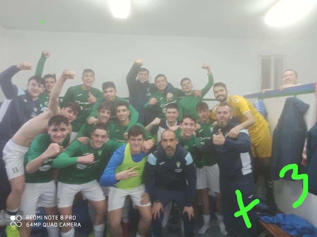 juvenil herencia cf celebra victoria contra toboso - El Herencia C.F. supera al C.D. Piedrabuena 3-0 en un sábado redondo