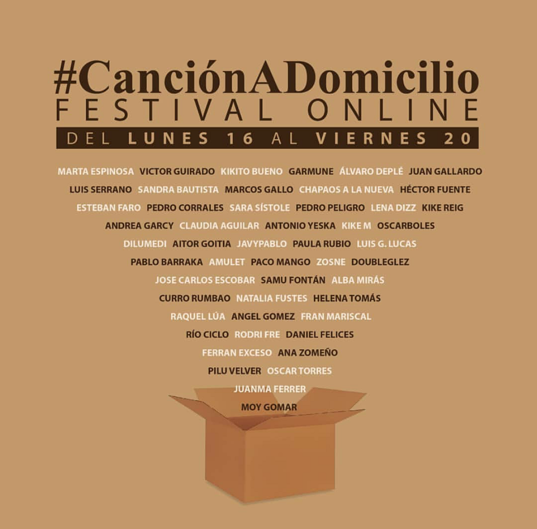 Música online de artistas herencianos para hacer más llevadero el aislamiento por Coronavirus 4