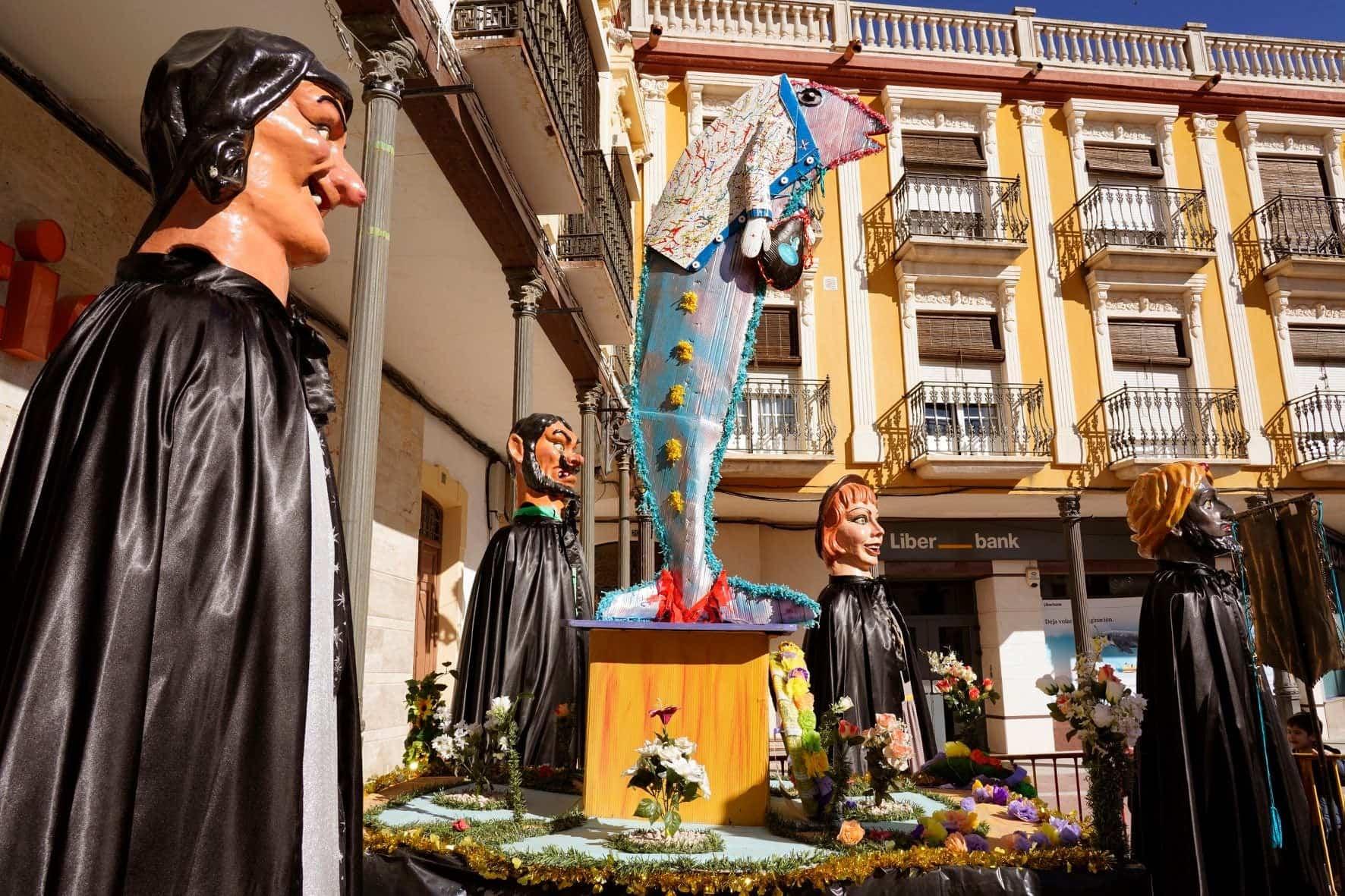 Carnaval de Herencia 2020 entierro sardina 1 - El Entierro de la Sardina 2020 del Carnaval de Herencia