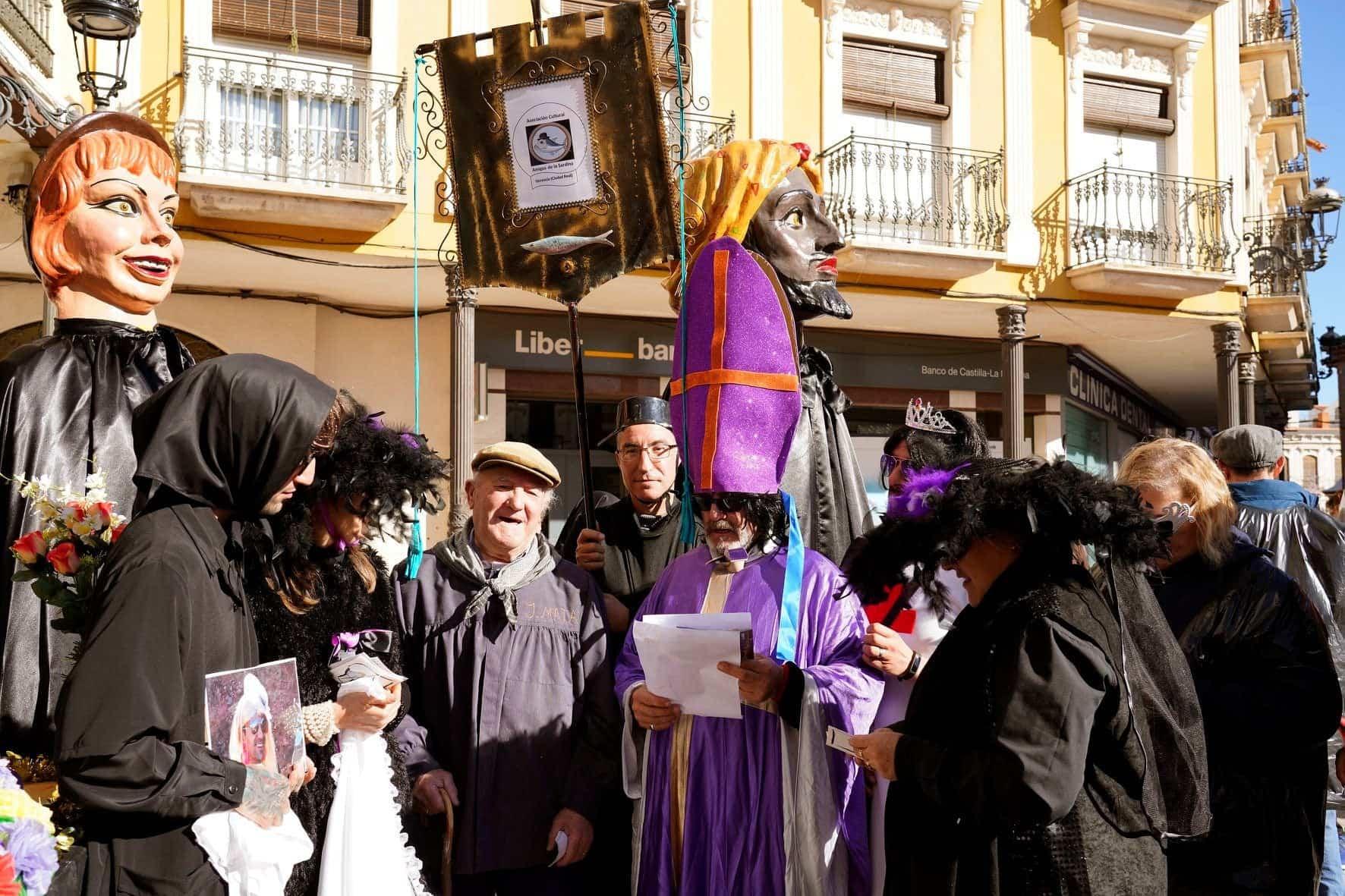 Carnaval de Herencia 2020 entierro sardina 10 - El Entierro de la Sardina 2020 del Carnaval de Herencia
