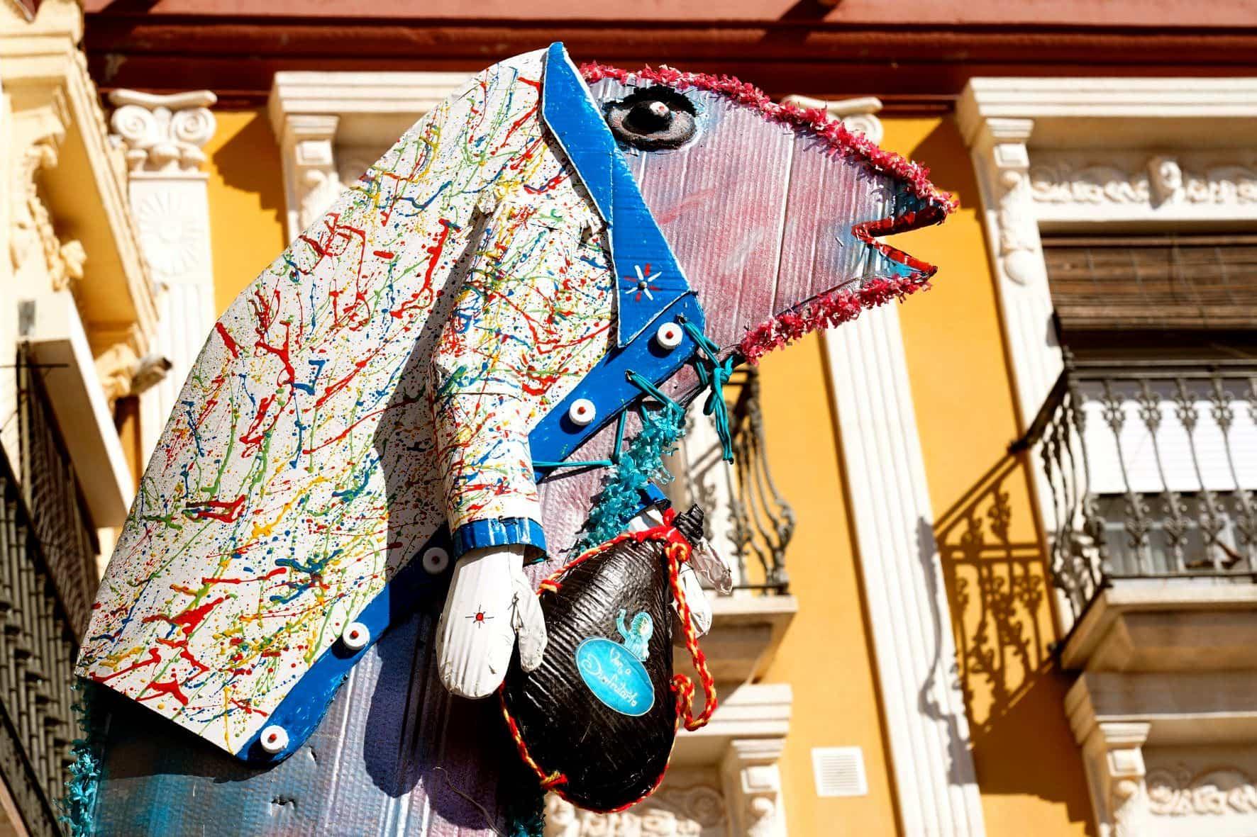 Carnaval de Herencia 2020 entierro sardina 13 - El Entierro de la Sardina 2020 del Carnaval de Herencia
