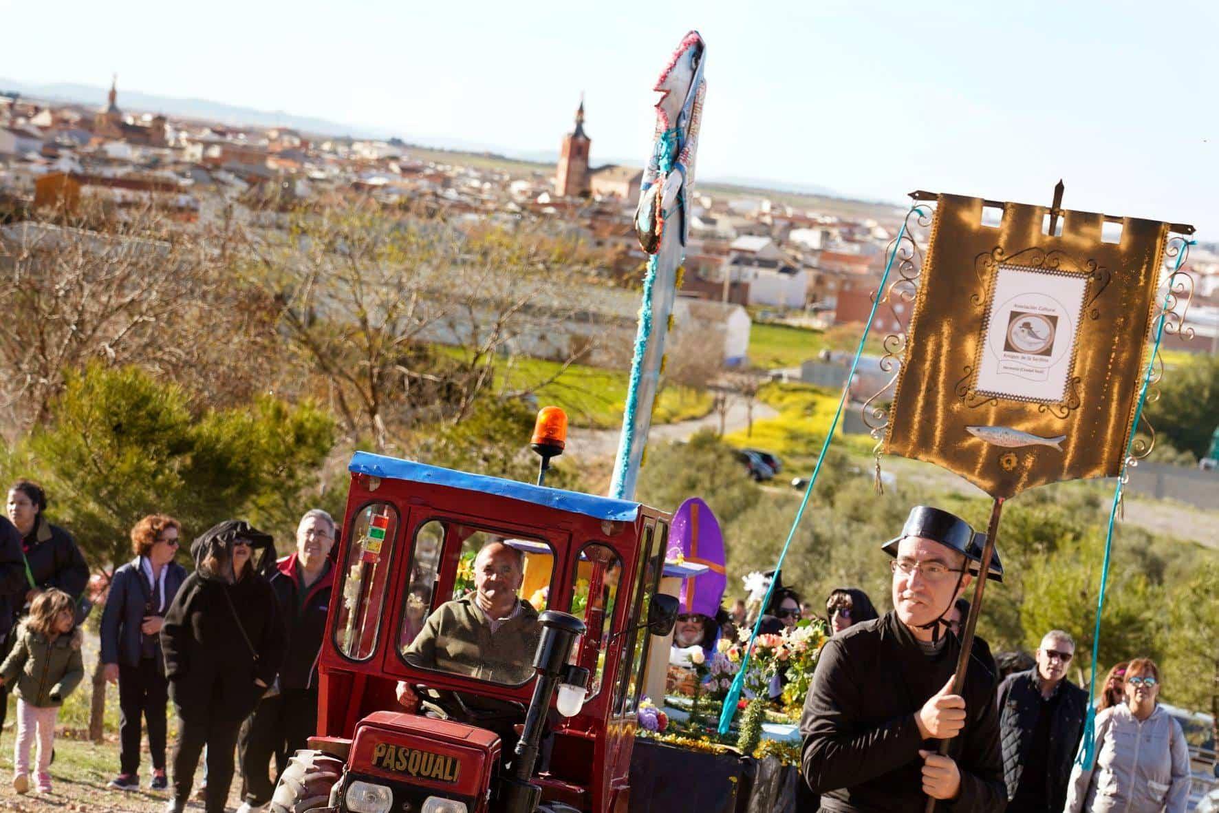Carnaval de Herencia 2020 entierro sardina 14 - El Entierro de la Sardina 2020 del Carnaval de Herencia