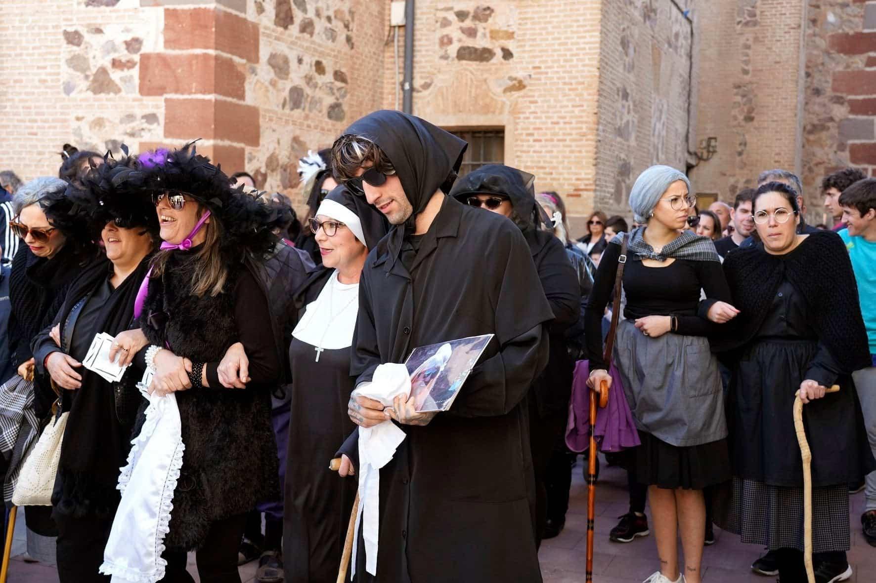 Carnaval de Herencia 2020 entierro sardina 16 - El Entierro de la Sardina 2020 del Carnaval de Herencia
