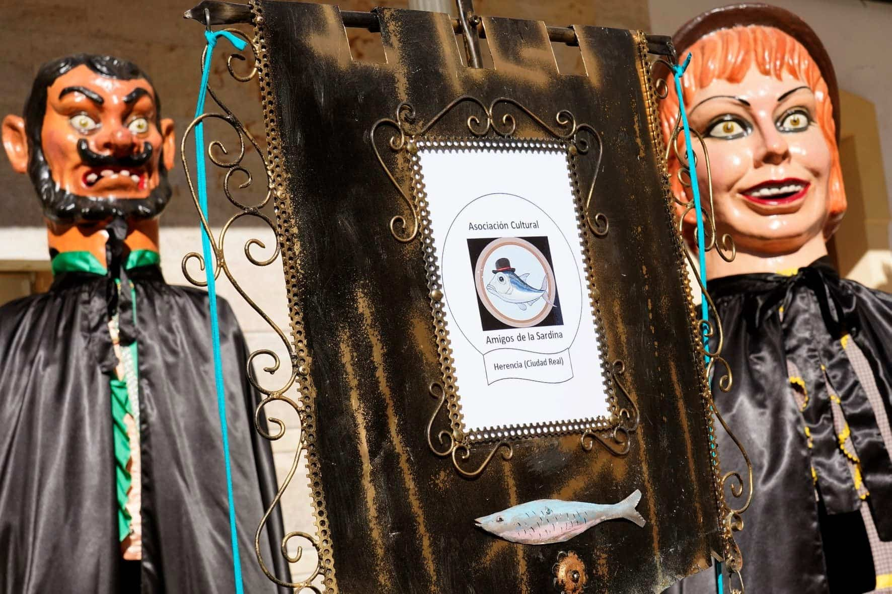Carnaval de Herencia 2020 entierro sardina 17 - El Entierro de la Sardina 2020 del Carnaval de Herencia