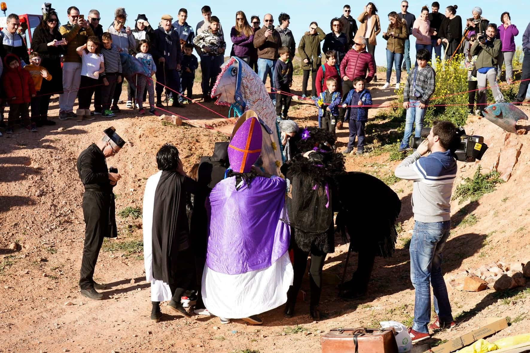 Carnaval de Herencia 2020 entierro sardina 18 - El Entierro de la Sardina 2020 del Carnaval de Herencia