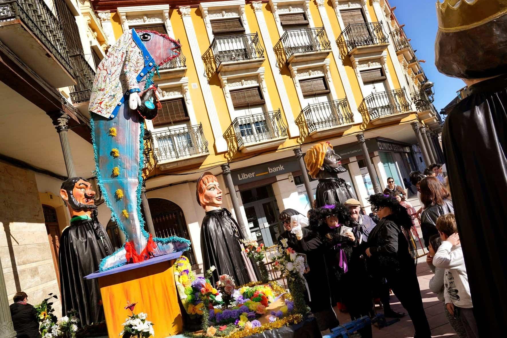 Carnaval de Herencia 2020 entierro sardina 19 - El Entierro de la Sardina 2020 del Carnaval de Herencia
