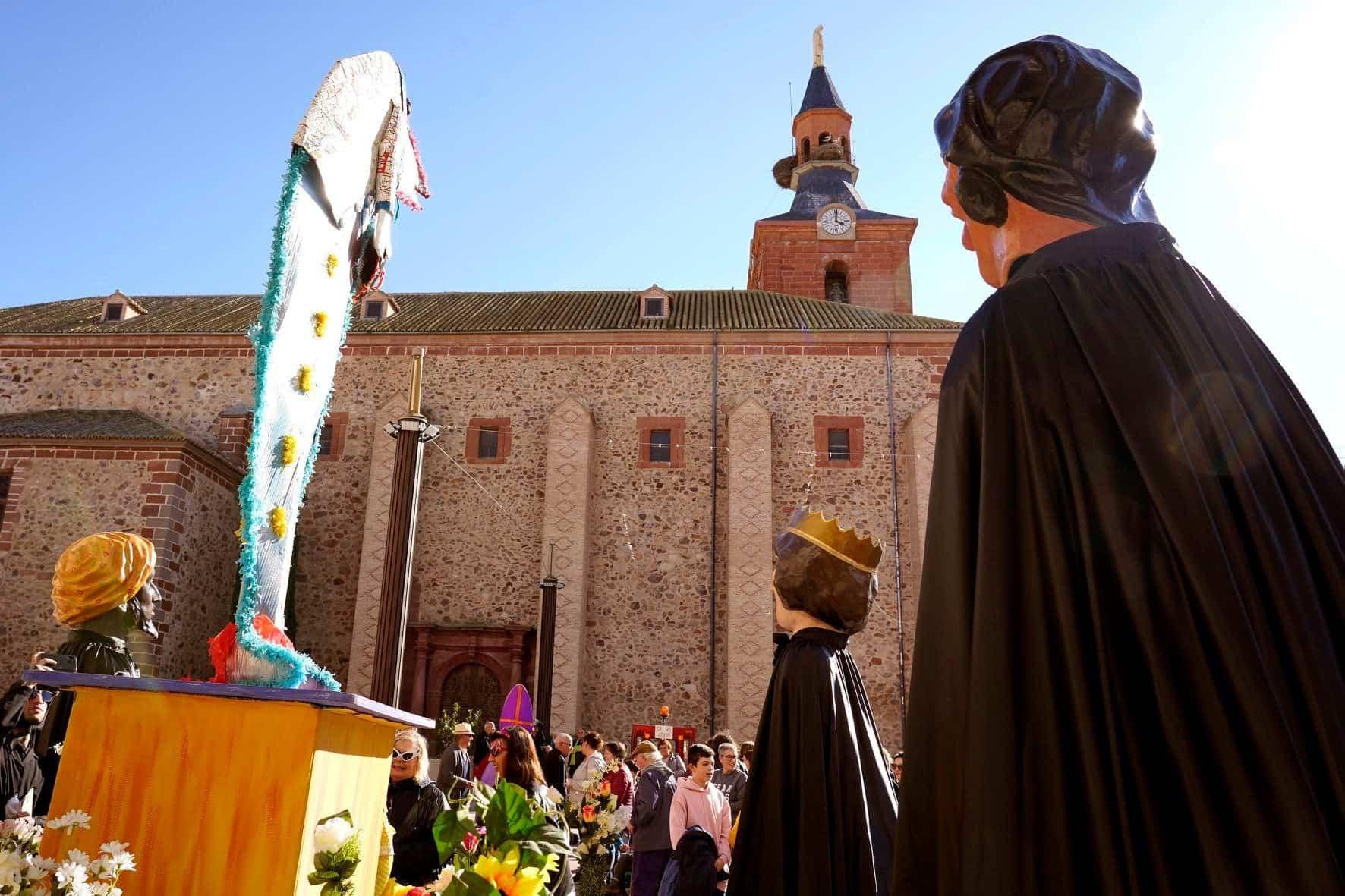 Carnaval de Herencia 2020 entierro sardina 2 - El Entierro de la Sardina 2020 del Carnaval de Herencia