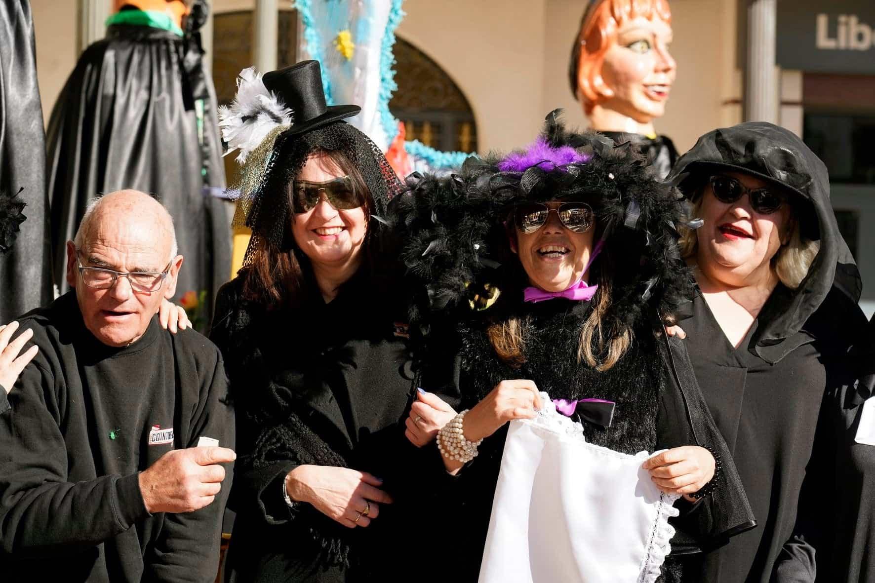Carnaval de Herencia 2020 entierro sardina 6 - El Entierro de la Sardina 2020 del Carnaval de Herencia