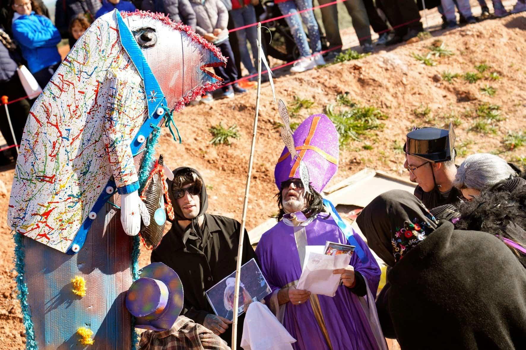 Carnaval de Herencia 2020 entierro sardina 7 - El Entierro de la Sardina 2020 del Carnaval de Herencia