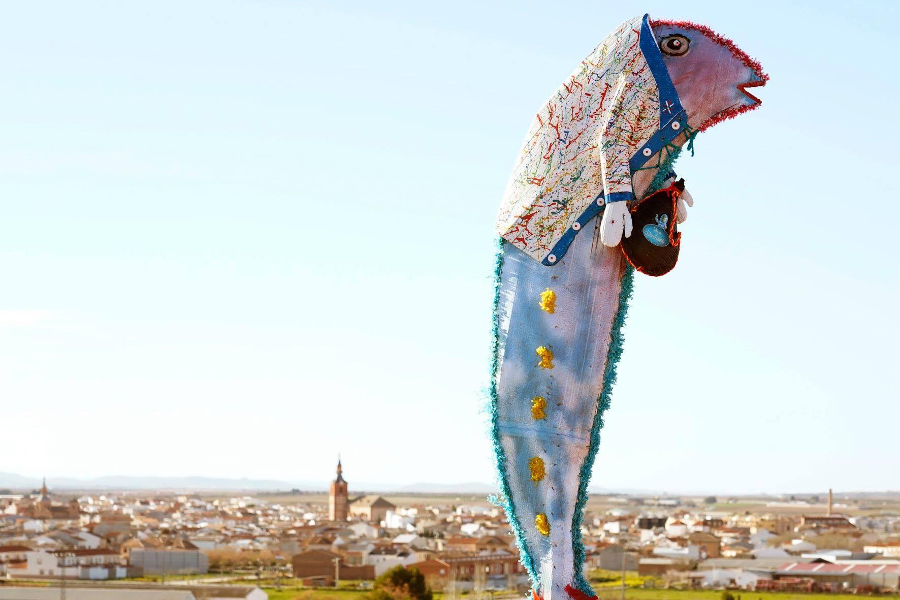 Carnaval de Herencia 2020 entierro sardina 8 - El Entierro de la Sardina 2020 del Carnaval de Herencia