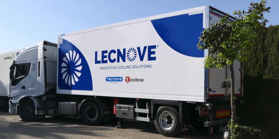 Tecnove Fiberglass crean la marca Lecnove Innovative Cooling Solutions junto a Leciñena Trailer 9