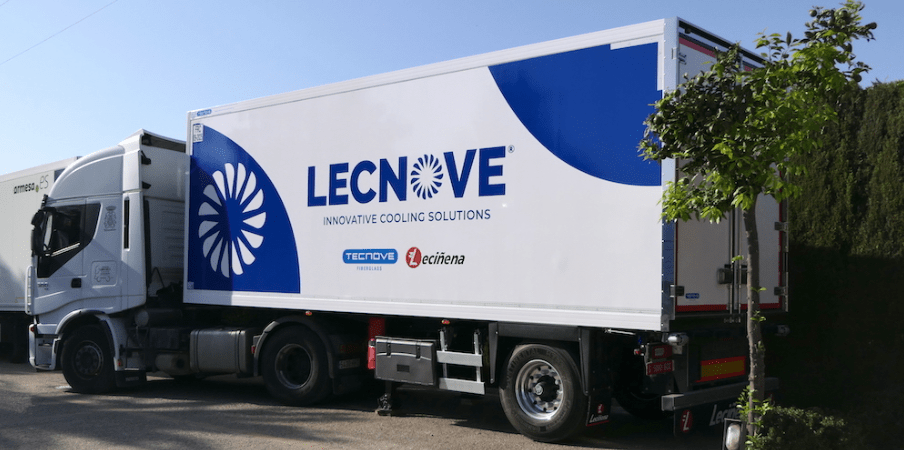 Frigo Lecnove Urban Trailer - Tecnove Fiberglass crean la marca Lecnove Innovative Cooling Solutions junto a Leciñena Trailer