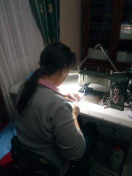Grupo de costureras de Herencia17 271x362 - Costureras de Herencia y Villafranca colaboran en la lucha contra la COVID-19