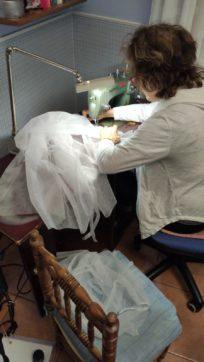 Grupo de costureras de Herencia18 204x362 - Costureras de Herencia y Villafranca colaboran en la lucha contra la COVID-19