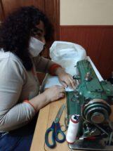 Grupo de costureras de Herencia6 161x215 - Costureras de Herencia y Villafranca colaboran en la lucha contra la COVID-19