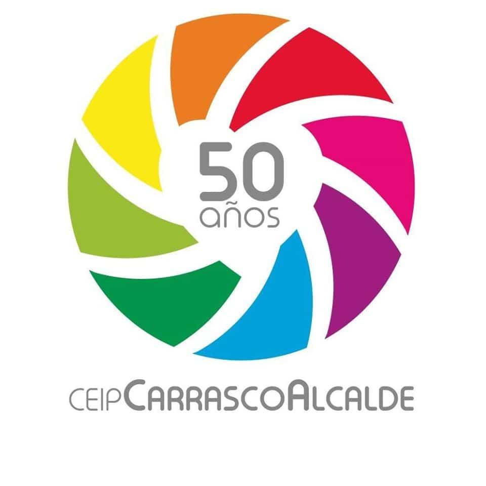 Logo 50 aniversario CEIP Carrasco Alcalde - Onda Cero emitirá un programa de radio desde el CEIP Carrasco Alcalde