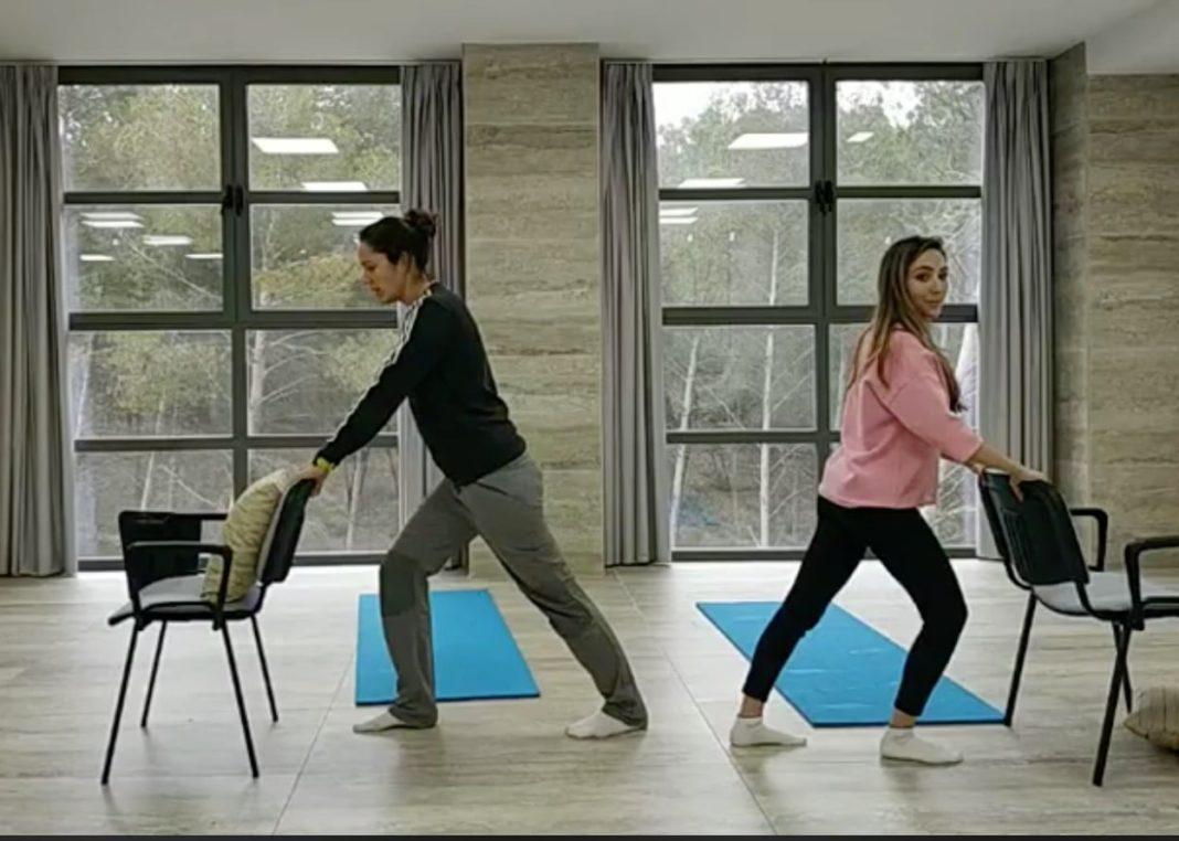 Combatimos el sedentarismo con ejercicios online #YOENTRENOENCASA 1