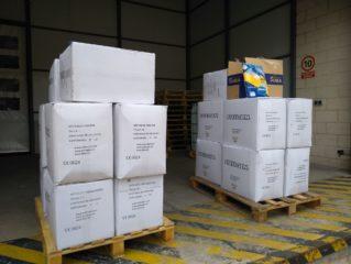 Material m%C3%A9dico para hospital y residencias Anthropos14 319x240 - El Fondo Solidario COVID-19 de Globalcaja apoya el proyecto Ánthropos