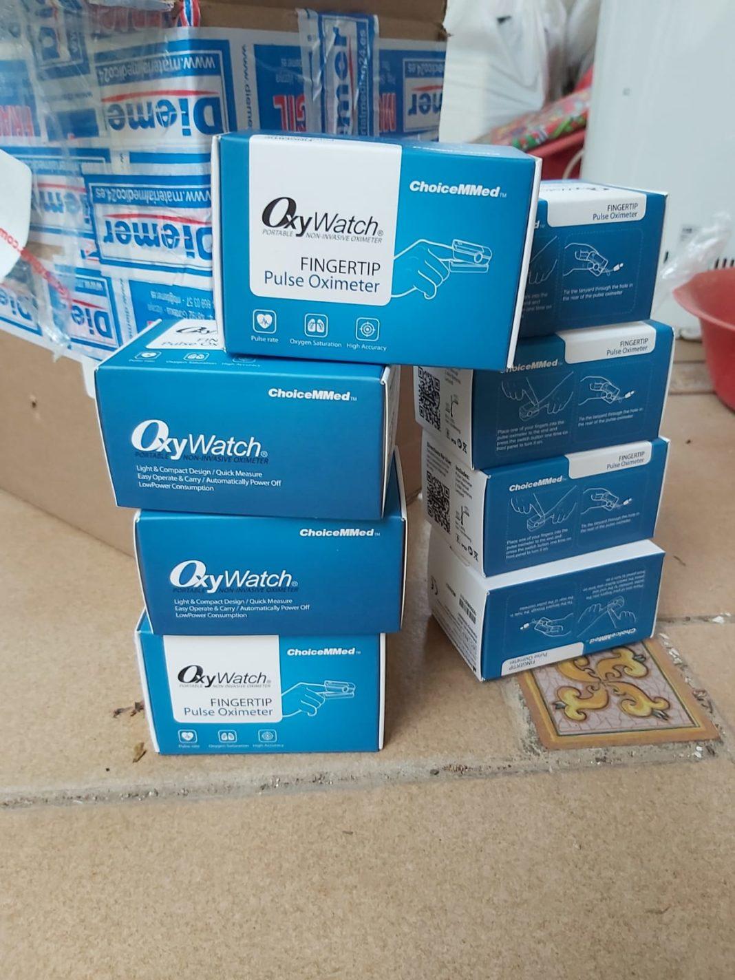 Material para el hospital Mancha Centro, las residencias y el Centro de Salud 33