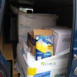 Material para el hospital Mancha Centro, las residencias y el Centro de Salud 21