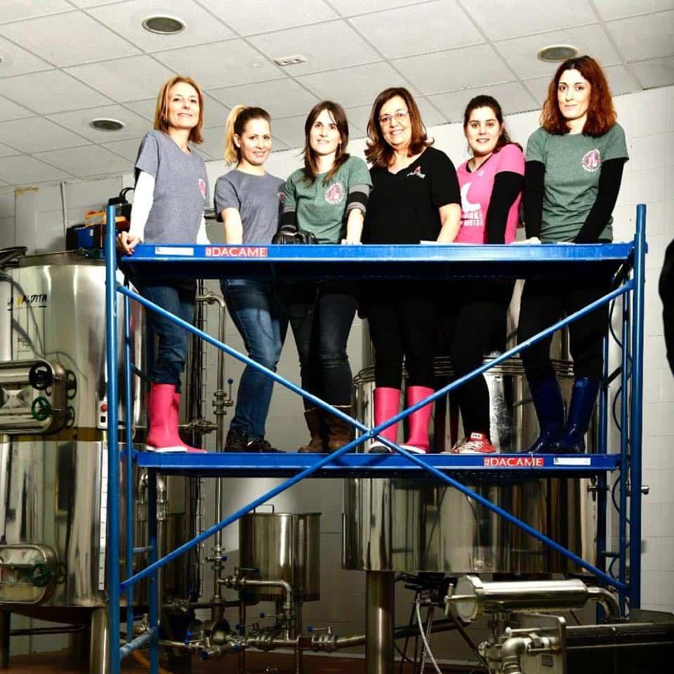 Pink Boots zona centro en La Maldita Herencia5 - La Maldita acoge un encuentro de Pink Boots Society con motivo del Día Internacional de la Mujer