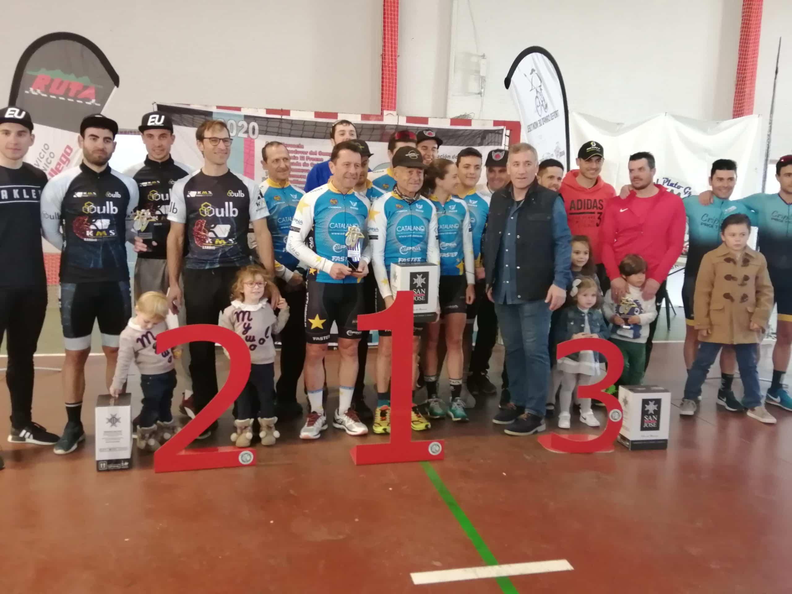 X circuito BTT herencia entrega premios 4 scaled - Más de 200 corredores participaron en el X Circuito BTT en Herencia