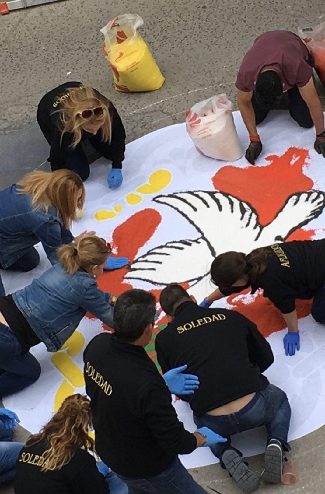 La Hermandad del Santo crea un grupo de voluntarios para asistencia durante la crisis el coronavirus 1