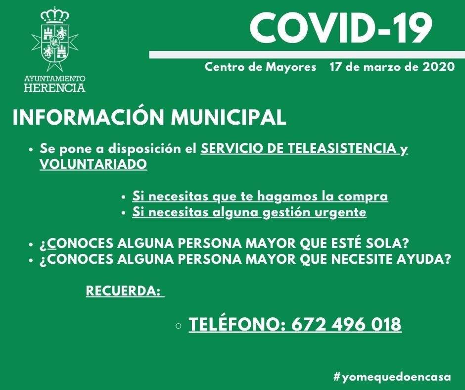Información municipal sobre transporte público,  servicio de teleasistencia y voluntariado 8