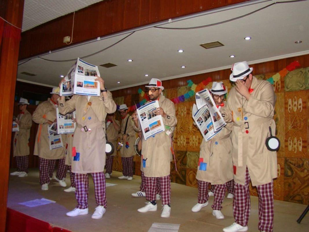 """los pelendengues quintanar carnaval 1068x801 - """"Los Pelendengues"""" regresan al Carnaval de Quintanar y triunfan con su actuación"""