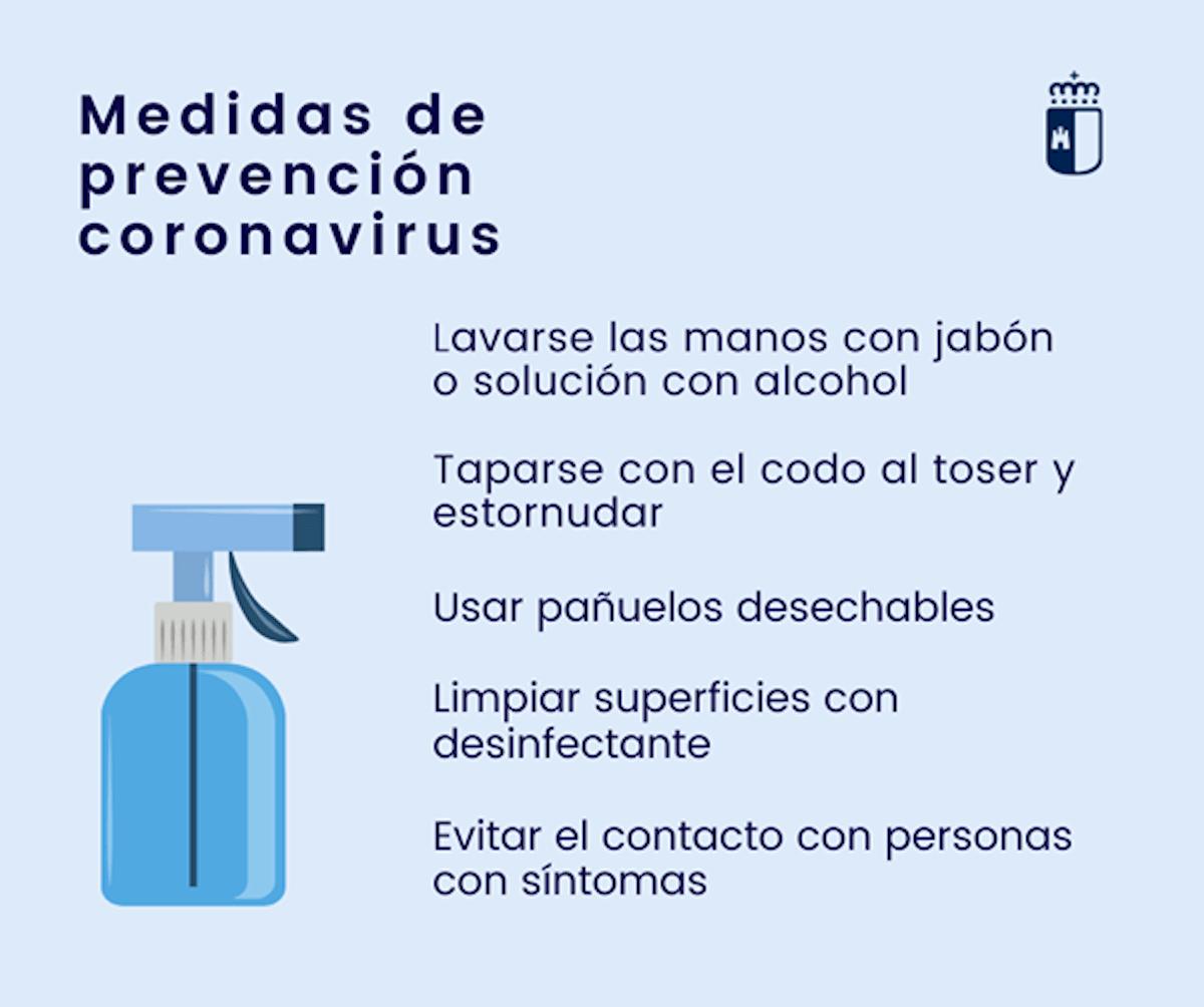medias prevencion coronavirus - Herencia adopta medidas para luchar contra el coronavirus