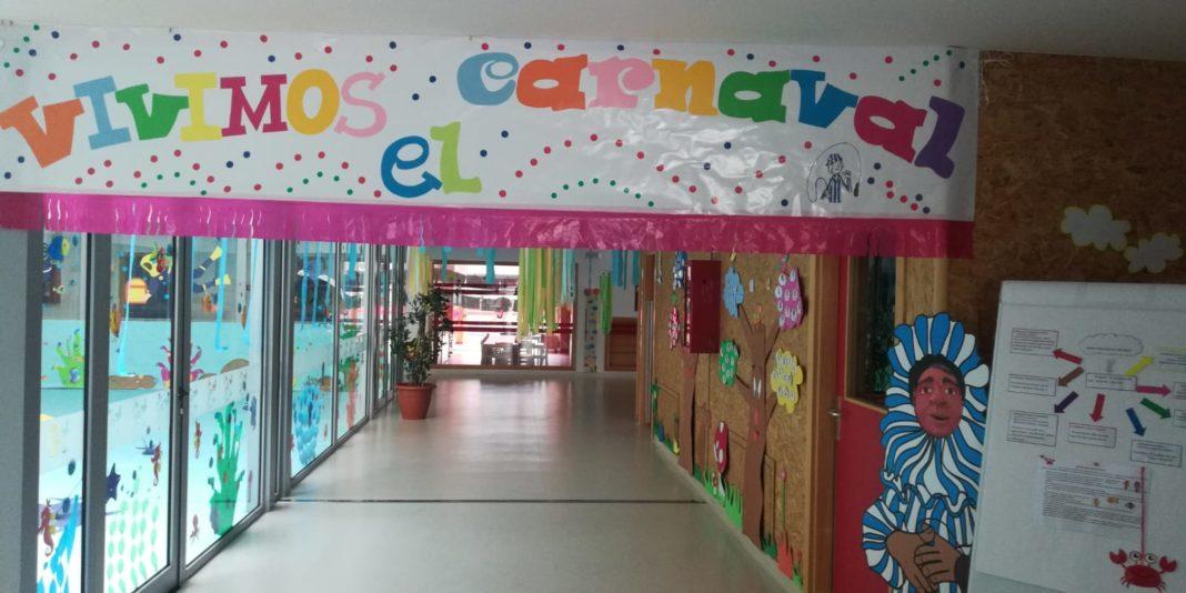 """proyecto educativo escuela municipal infantil de herencia06 1068x534 - La escuela municipal infantil trabaja el carnaval a través del proyecto """"En el fondo del mar, matarile, dile, dile"""""""
