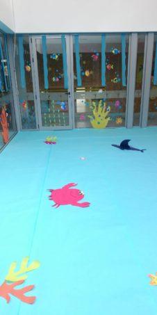 """proyecto educativo escuela municipal infantil de herencia08 226x453 - La escuela municipal infantil trabaja el carnaval a través del proyecto """"En el fondo del mar, matarile, dile, dile"""""""