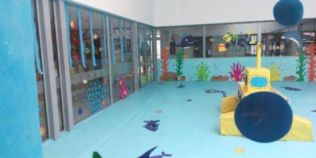 """proyecto educativo escuela municipal infantil de herencia14 454x227 - La escuela municipal infantil trabaja el carnaval a través del proyecto """"En el fondo del mar, matarile, dile, dile"""""""