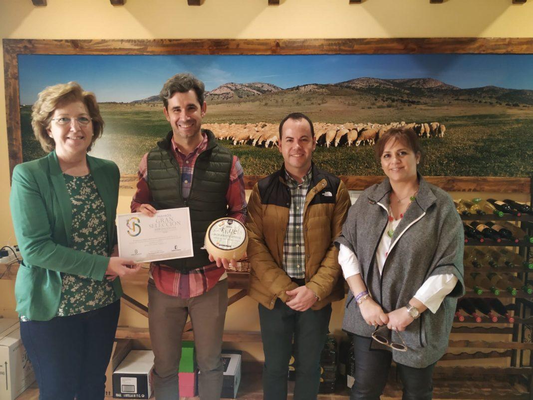 quesos herencia premios 1 1068x801 - Los Premios Gran Selección reconocen una vez más los buenos quesos de Herencia