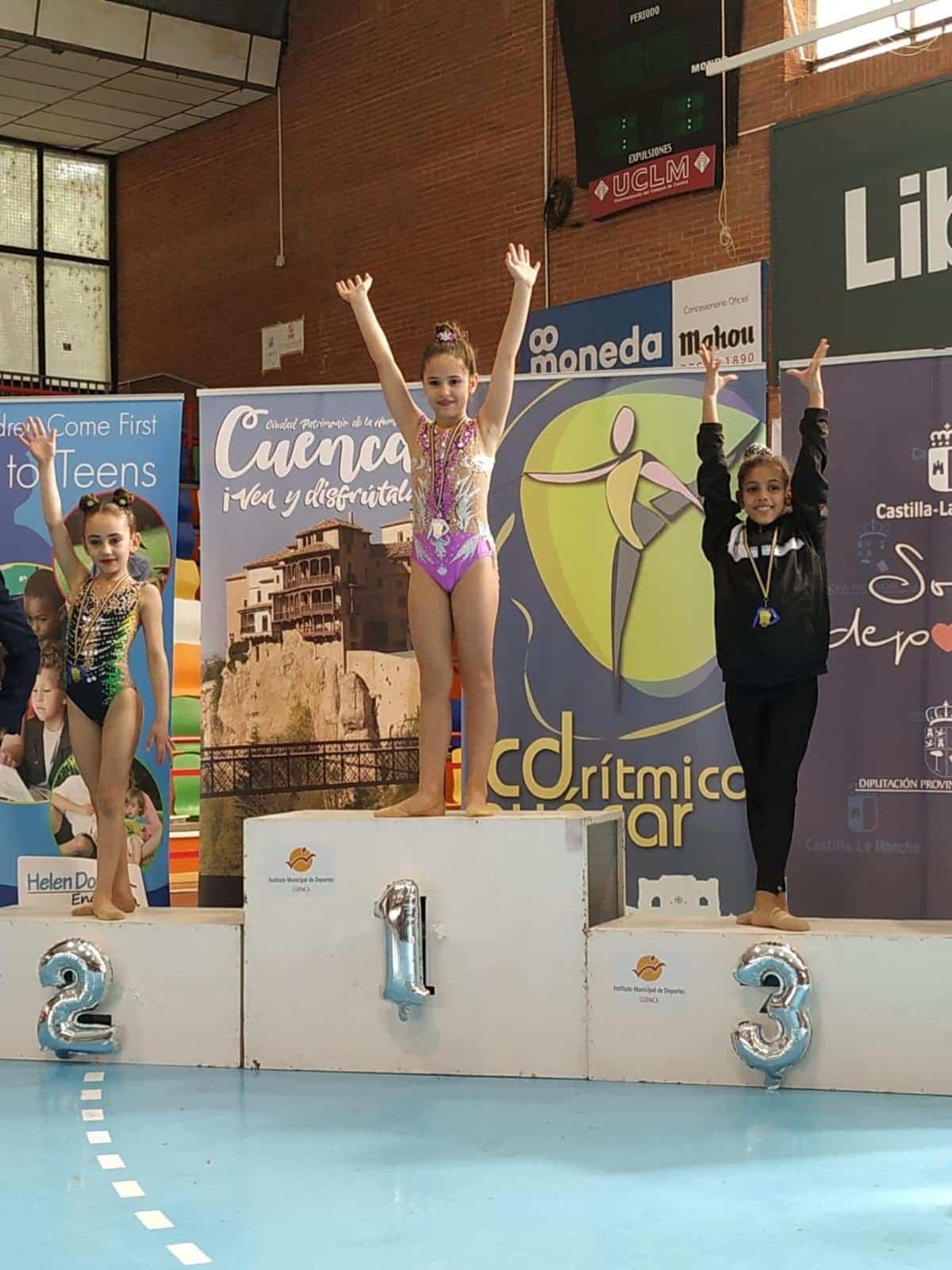 trofeo gimnasia ritmica cuenta 1 - Herencia presente en el Trofeo de Gimnasia Rítmica de Cuenca