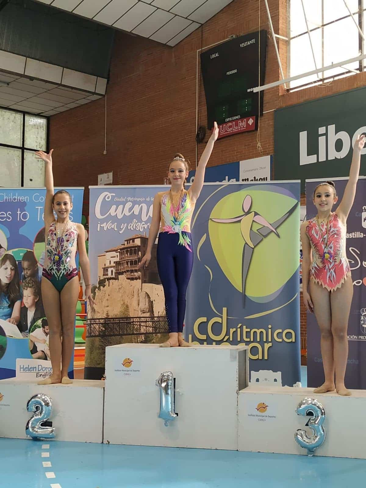 Herencia presente en el Trofeo de Gimnasia Rítmica de Cuenca 7