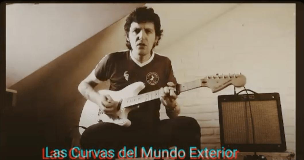 """Antonio Yeska - Antonio """"Yeska"""" compone """"Las curvas del mundo exterior"""""""