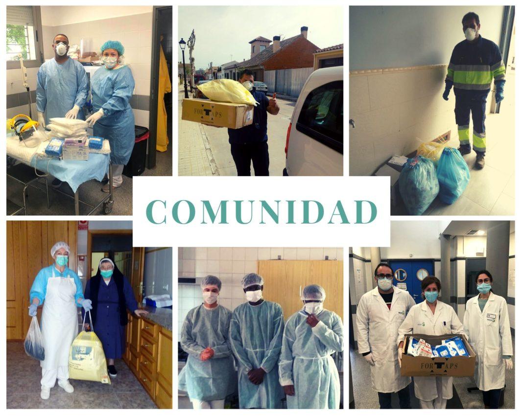 COMUNIDAD ÁNTHROPOS 1068x854 - Ánthropos y la generosidad de la comunidad ante el coronavirus