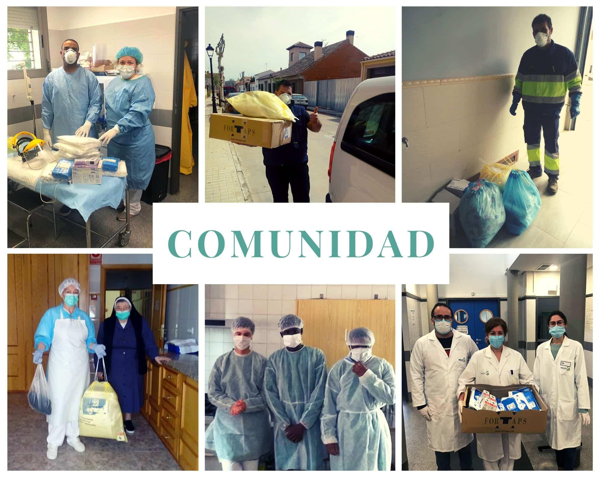 COMUNIDAD %C3%81NTHROPOS - Ánthropos y la generosidad de la comunidad ante el coronavirus