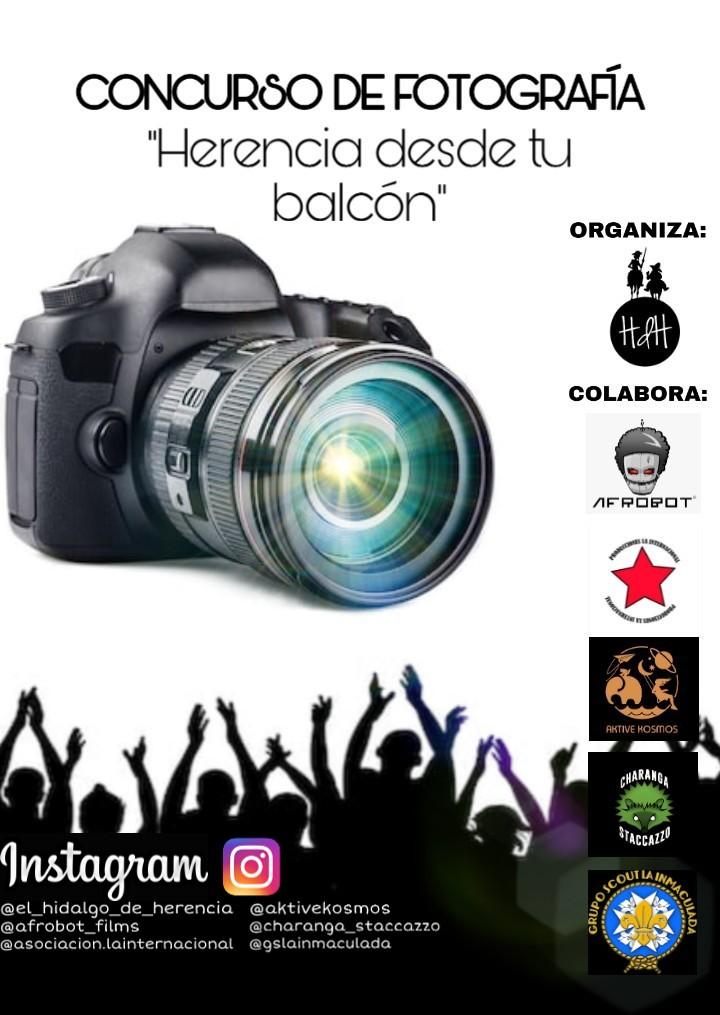 """Concurso de fotografía Herencia desde el balcón - Concurso de fotografía """"Herencia desde tu balcón"""""""