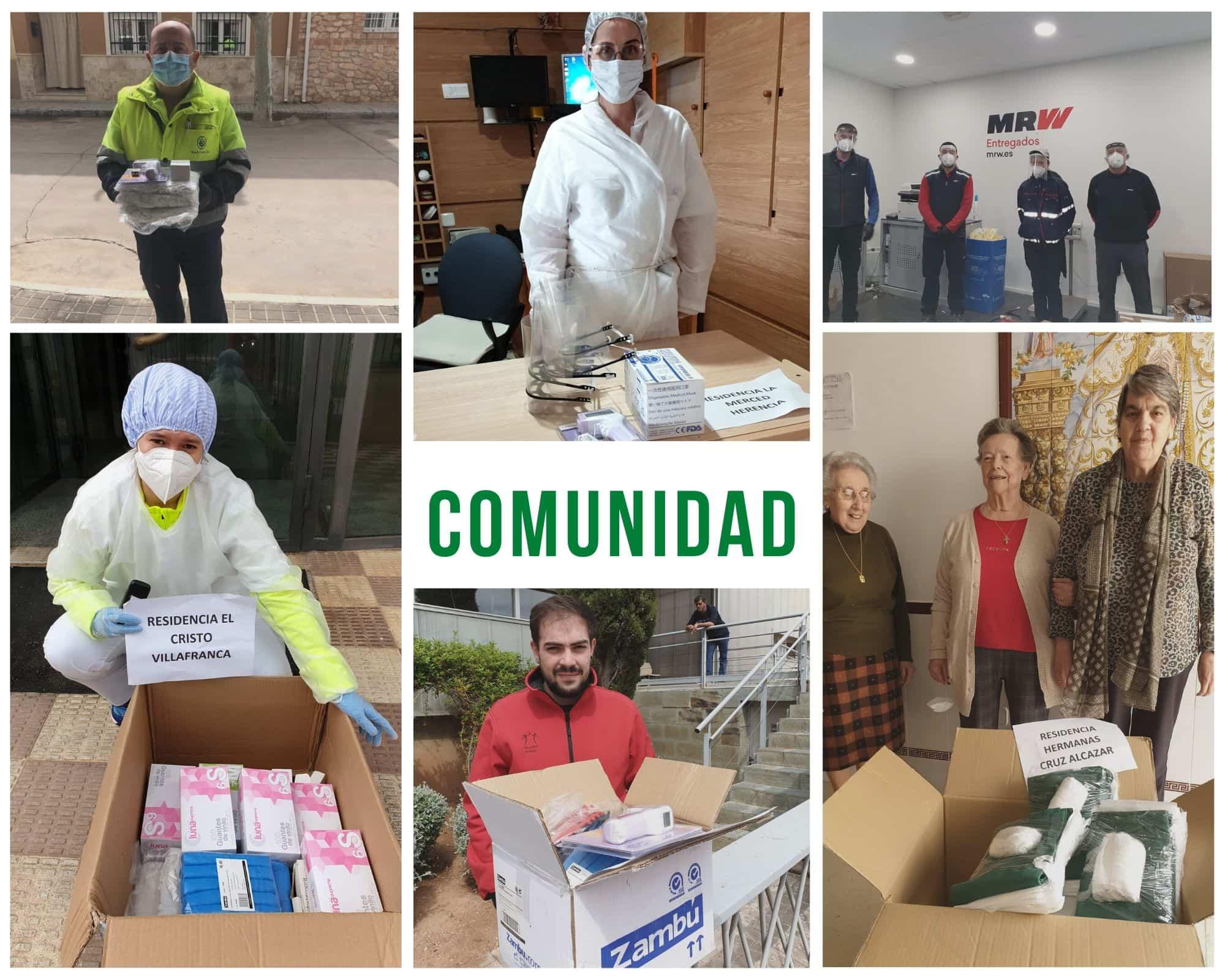 Copia de comunidad - Ánthropos sigue atendiendo necesidades del hospital y residencias