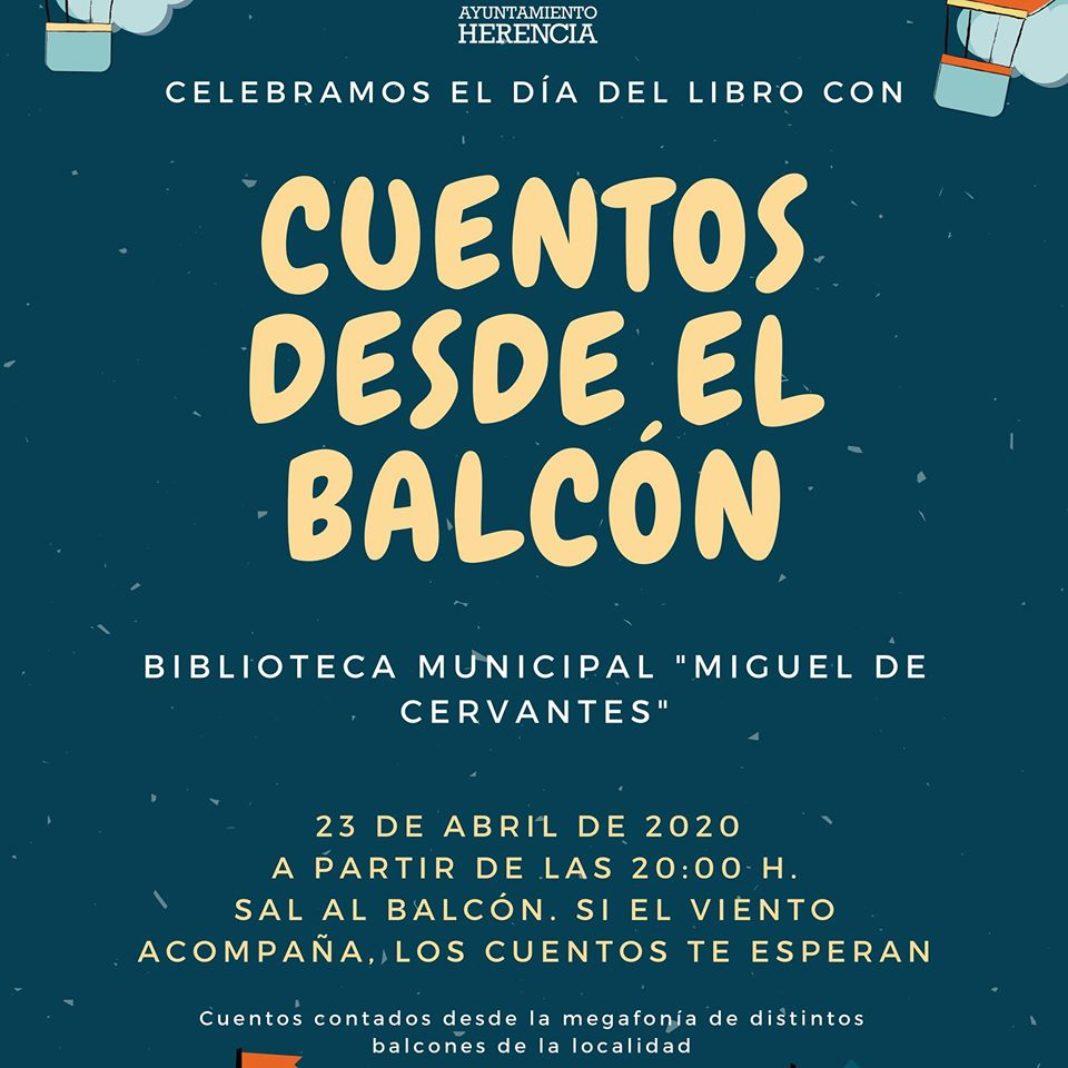 Cuentos desde el balcón 1068x1068 - Poemas compartidos, cuentos en casa y desde el balcón para celebrar el Día del Libro