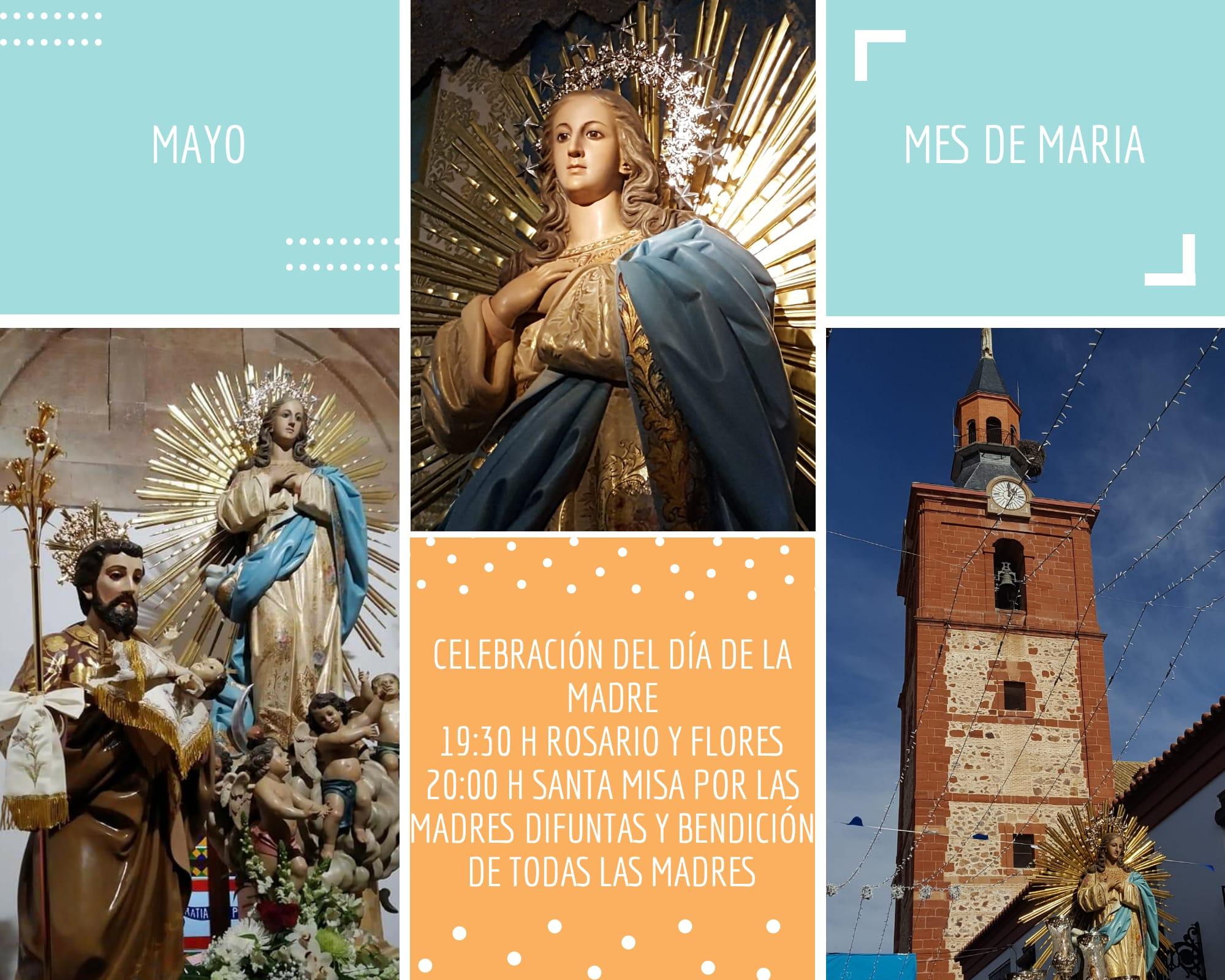 D%C3%ADa de la madre en la parroquia mes de mayo - La parroquia Inmaculada Concepción inicia un mes de mayo dedicado a María