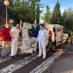 EOMadrid entrega dos respiradores al hospital Mancha Centro de Alcázar de San Juan 4