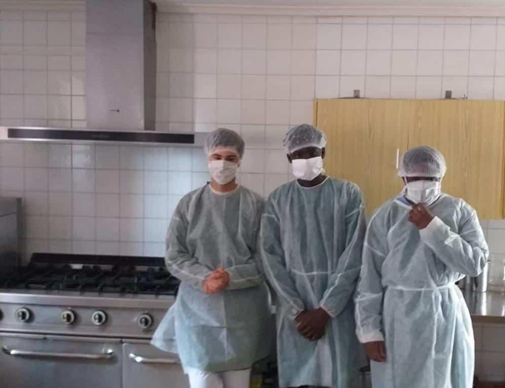 Entrega material a La Merced Migraciones2 - Ánthropos y la generosidad de la comunidad ante el coronavirus