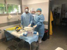 Entrega material al Centro de Salud de Herencia4 229x172 - Ánthropos y la generosidad de la comunidad ante el coronavirus