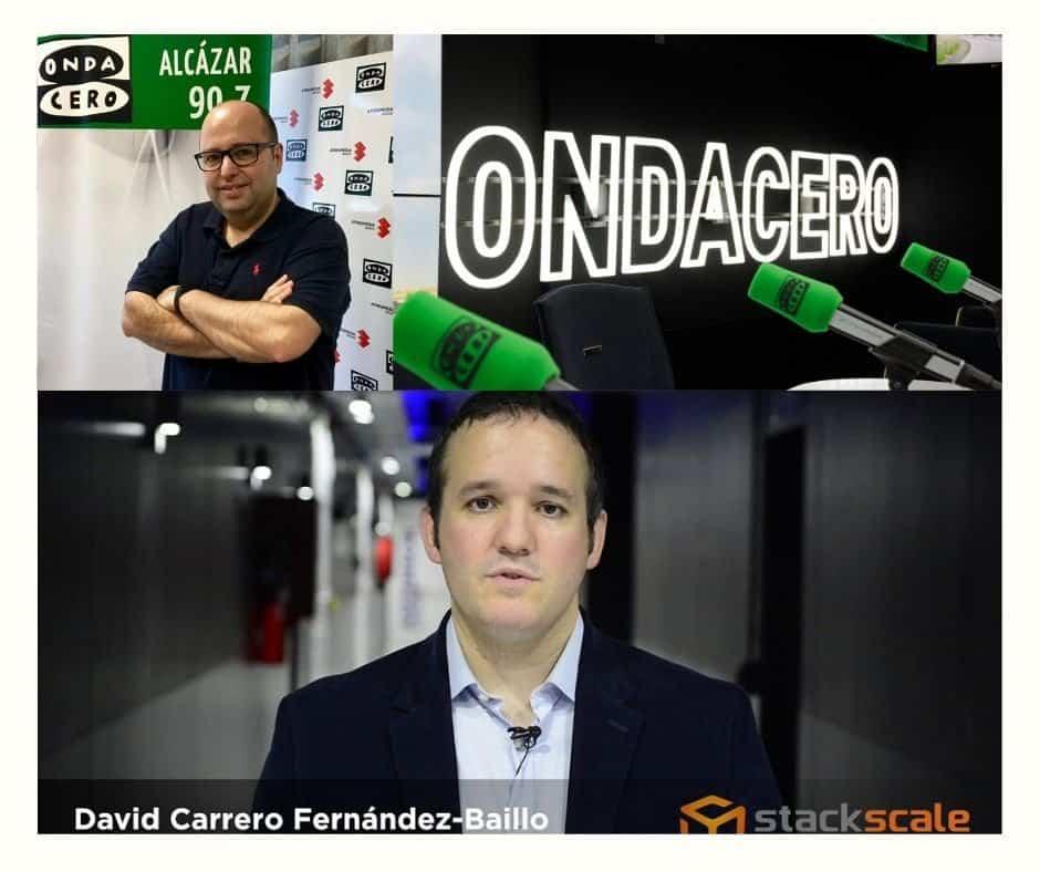 Entrevista a David Carrero en Onda Cero - Onda Cero entrevista a David Carrero por el proyecto de EO Madrid para traer respiradores a España