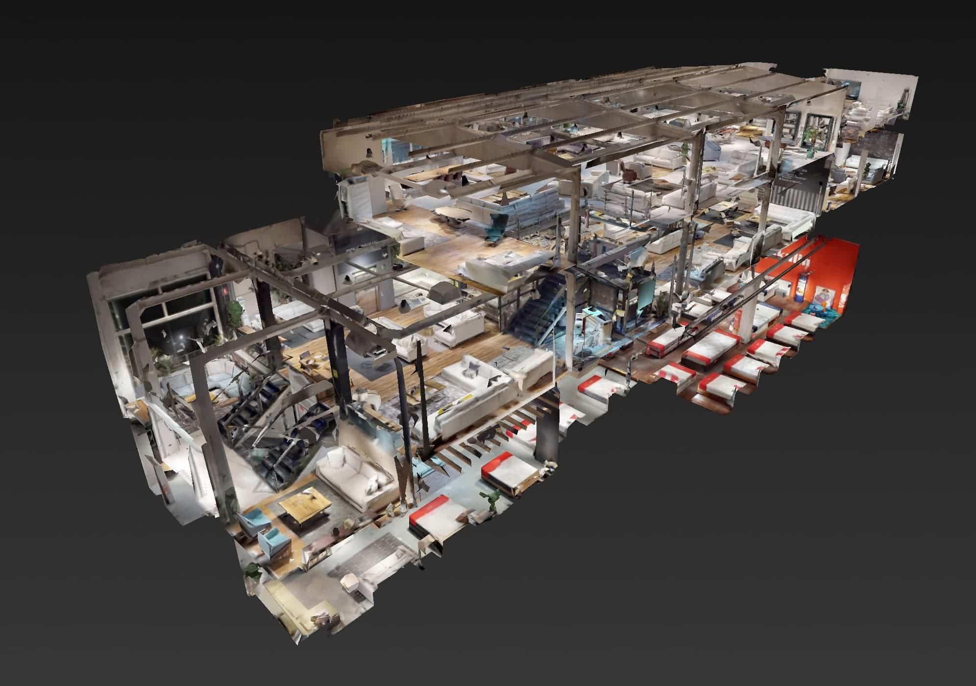 Foto Tienda 3D - Un herenciano lanza un sistema virtual que permite reabrir comercios virtualmente a los consumidores