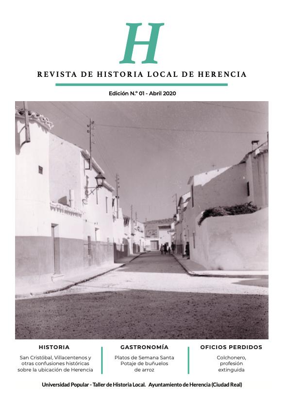 H revista de Historia Local de Herencia - La Universidad Popular, a través del Taller de Historia Local, lanza una revista sobre la historia y el patrimonio de Herencia